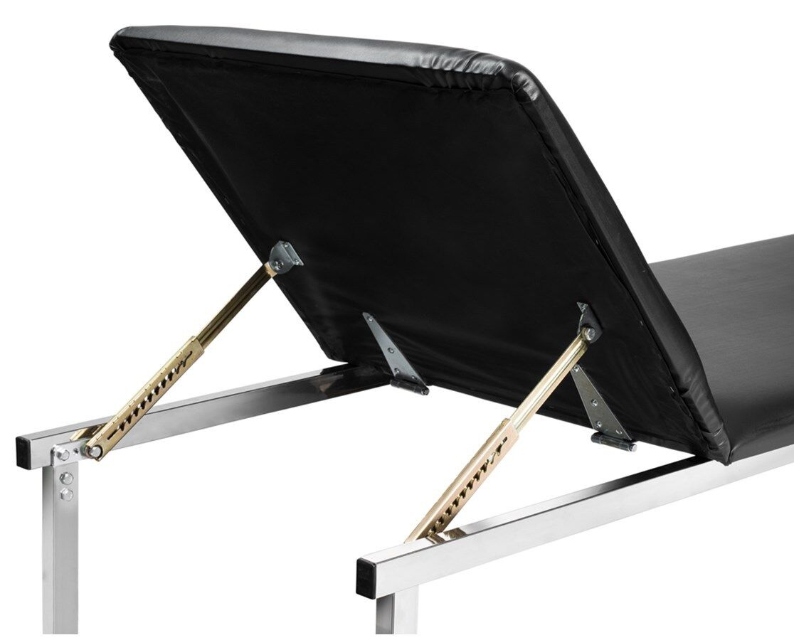AdirMed Adjustable Steel Leather Exam Table with Paper Dispenser 1
