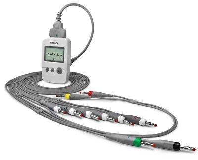 Edan Se-1515 Dx-12 Wireless Pc-based Ecg Machine
