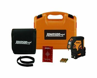 Johnson Level Tool Jlt 5-dot Self-leveling Laser W Magnetic Target Case