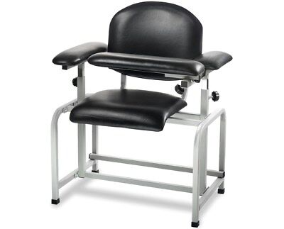 Adirmed Black 17.3 In Padded Phlebotomy Blood Draw Chair