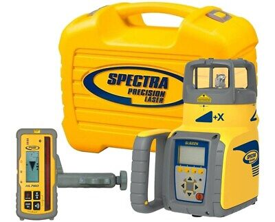Spectra Precision Gl622n Dual Slope Rotary Grade Laser Level W Hl760 Receiver