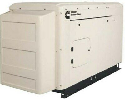 Cummins 25kw Ng Lp 120 240v 1 Phase Quiet Connect Rs25 Standby Generator
