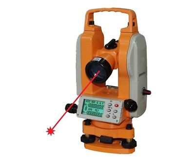 Johnson Level 5-second Electronic Digital Theodolite With Laser