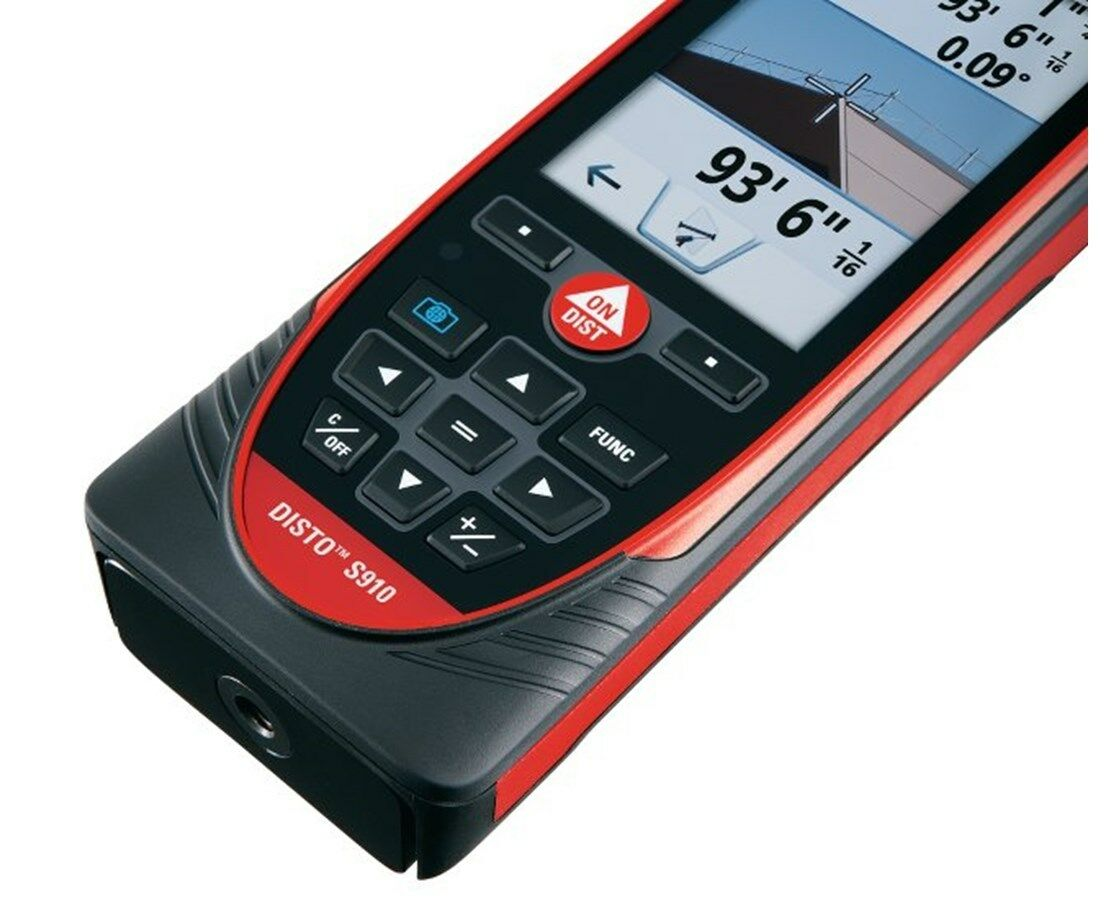 leica disto s910 laser distance meter bluetooth smart lifetime warranty 808183 ebay. Black Bedroom Furniture Sets. Home Design Ideas
