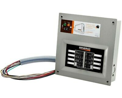 Generac Homelink Upgradeable Pre-wired Manual Transfer Switch 50 Amps