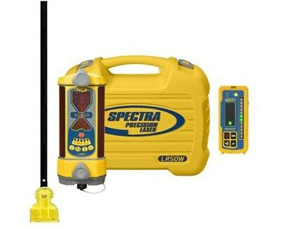 Spectra Precision Lr50w Wireless Laser Machine Control Receiver Remote Mount