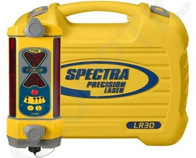 Spectra Precision Lr30 Machine Control Laser Receiver W Case And Nimh Battery