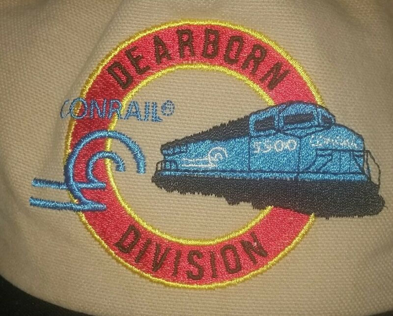 CONRAIL RailroaD EMPLOYEE HAT Baseball CAP DEARBORN DIVISION brand new MINT!