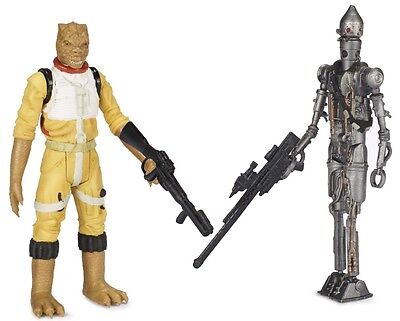 STAR WARS MISSION SERIES 2-PACK - BOSSK AND IG-88 ACTION FIGURES