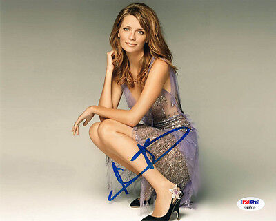 Mischa Barton Signed 8X10 Photo Beverly Hills 90210 Psa Dna Autographed