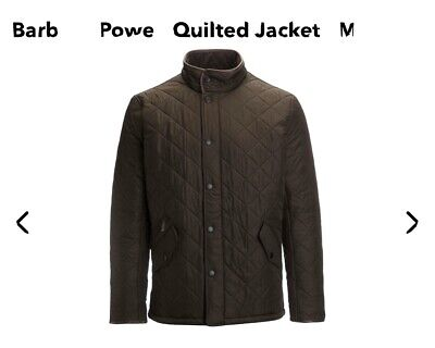 Barbour Powell Polar Quilted Jacket Olive XL