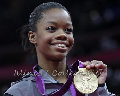 Gabby Douglas London 2012 Usa Olympic Gymnastics Gold Medal 8X10 Photo