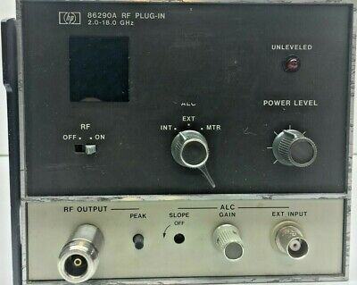Agilent Hp 86290a Rf Plug In 2.0 - 18.0 Ghz