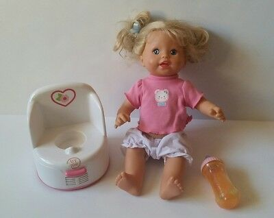 Fisher Price Little Mommy Talking GOTTA GO Potty Training Baby Doll