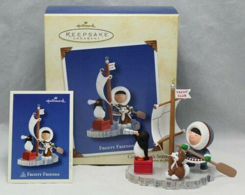 Hallmark Keepsake - Frosty Friends - Penguin Yacht Club - #24 in Series - 2003 2