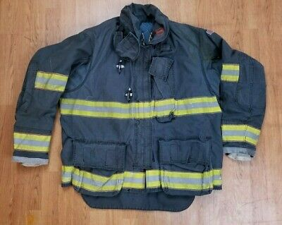Globe Gxtreme 50 X 32 Black Bunker Jacket Turnout Jacket Firefighter.