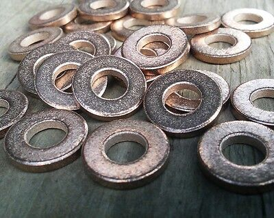 20pc, Metal Stamping Blanks, Bronze Washer, Made In USA, 20 pc- Jewelry Discs  -