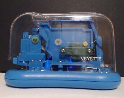 Automatic Electric Desk Stapler Blue Modern 15- 25 Sheets High Speed Ac Adaptor