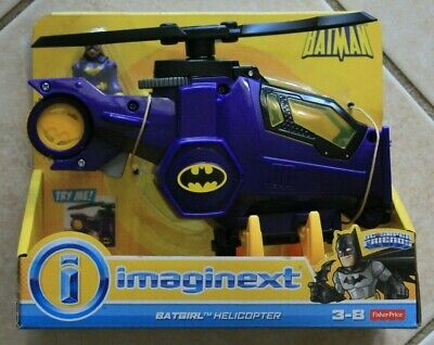 FISHER-PRICE IMAGINEXT DC SUPER FRIENDS BATGIRL HELICOPTER