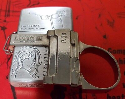 Zippo Lupin III Gun Action Special Edition (NEW)