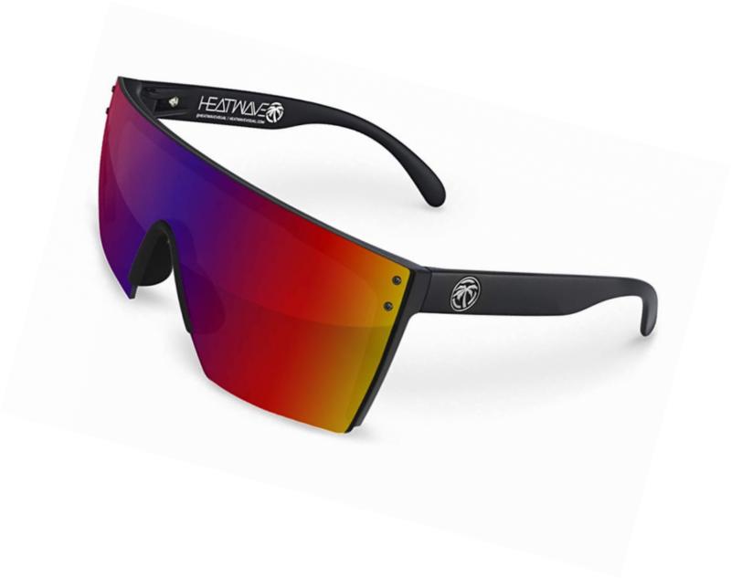 Heat Wave Visual Lazer Face Sunglasses Durable Unique Impact Resistant Lens