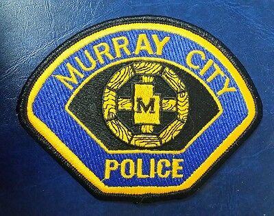 MURRAY CITY, UTAH POLICE SHOULDER PATCH UT