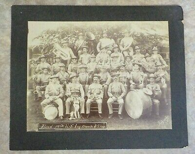 14th US Infantry 1900  Boxer Rebellion The Band Manilla, P.I.