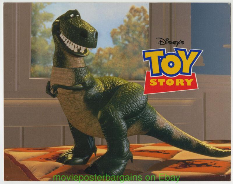 TOY STORY MOVIE POSTER  11x14 Dino Lobby Card PIXAR DS 27x40 DISNEY ANIMATION