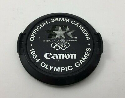 Canon 35mm Camera 1984 Olympic Games 52mm Lens CAP ONLY
