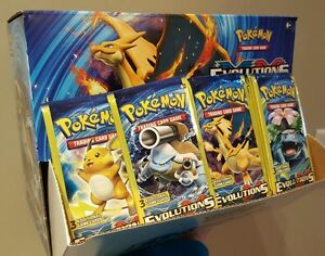 EVOLUTIONS-Booster-Pack-x1-NEWEST-SET-AUTHENTIC-BUY-8-GET-1-PACK-FREE