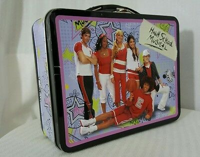 High School Musical Lunch Box - High School Musical Tin Box, Lunch Pail , Lunch Box, Collectable