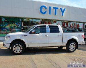 "2014 Ford F-150 4x4 SuperCrew 145"" Platinum"