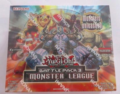YuGiOh Battle Pack 3 Booster Box NEW
