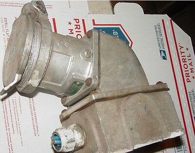 Russellstoll Russell Stoll 30a 400vac-250vdc Female Plug Arfa334 Old 3114