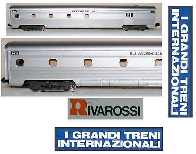 RIVAROSSI-ATLAS 2667 WAGGON STAMM-SCHLAFSAAL PENN CENTRAL LICHT BOX