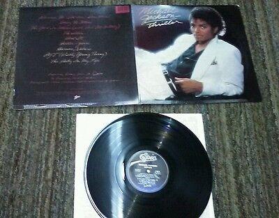 Michael Jackson - Thriller LP VG+ QE 38112 USA 1982 Vinyl Record - Halloween Usa Promo