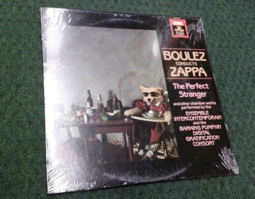 Boulez Conducts Zappa Frank Sealed Lp Vinyl Record NOS New Old Stock  - $35.00