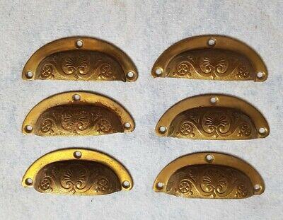 Vintage Brass Handles Drawer Pulls
