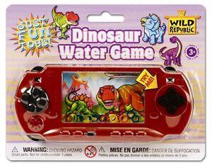 Wild Republic Hand-Held Blaster Water Game - Dinosaur Toy Game #11561 NEW