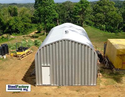 Steel Factory Mfg 25x50x16 Residential P-series Garage Rv Building Workshop Kit