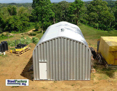 Steel Factory 20x35x16 Residential Garage Camper Rv Storage Building Workshop