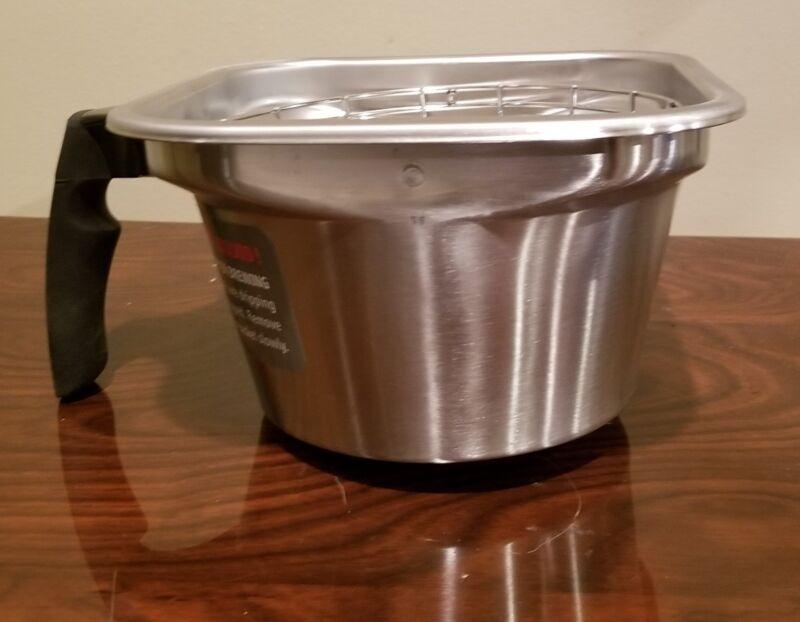 """Fetco coffee machine Brew Basket  13""""x5"""""""