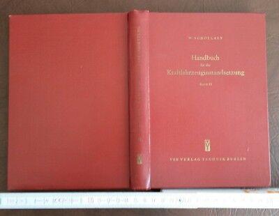 Reparatur Fachbuch Oldtimer 1957 Fotos Schenck Darmstadt MATRA Technik VEB Opel