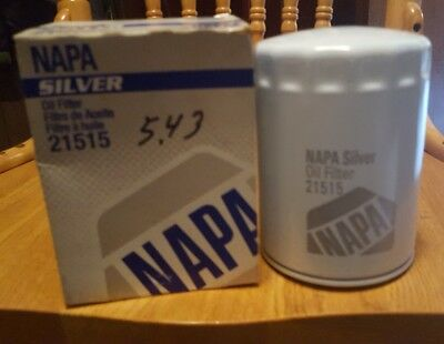 NAPA SILVER OIL FILTER 21515