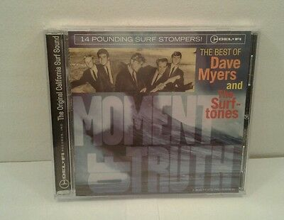 Moment of Truth: Best of Dave Myers & Surftones (CD, 2002,