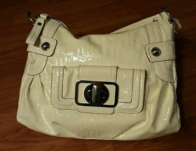 Guess Authentic New! White Handbag Purse Shoulder Bag