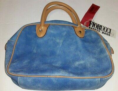 Fiorucci Safety Bag Blue NWT