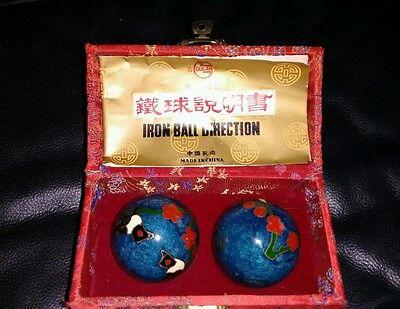 Qigong-Kugeln mit Begleitheft