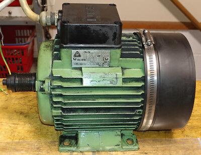Emco Maximat Super 11 Lathe Elin 3 Phase 220 Vac Spindle Motor 0301c
