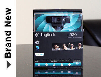 Logitech C920 Full HD Pro WebCam 1080p Widescreen 960-000764 for PC ★Brand NEW★  on Rummage